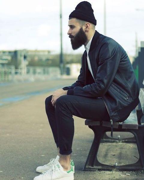full-beard-with-stylish-look