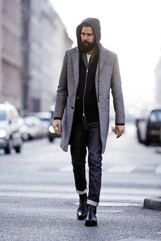 full-beard-withstylish-cloth