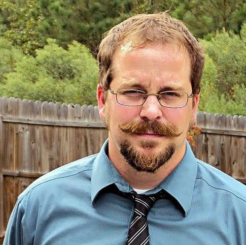 goatee and handlebar moustache for men bearded men