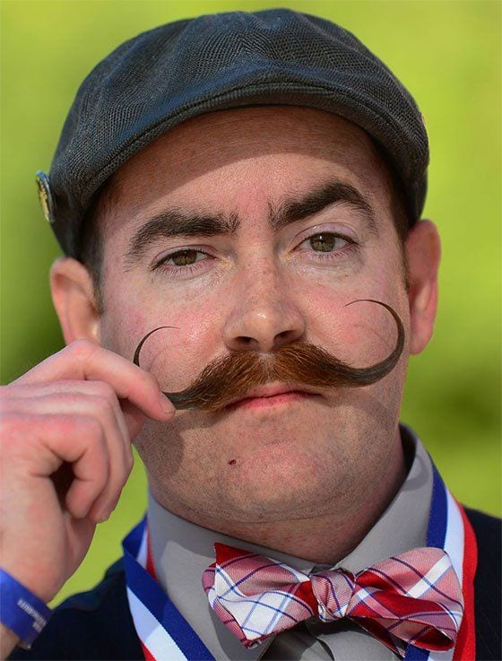 imperial moustache english look