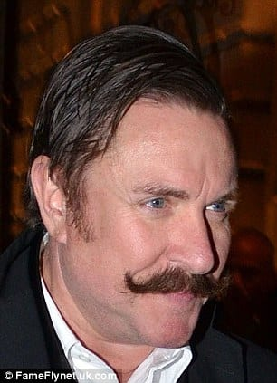 tycoon moustache casual elegant stylish male celebs