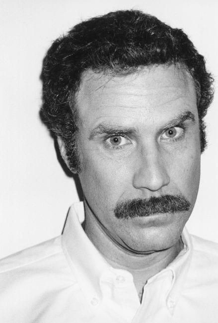 will farell professor moustache