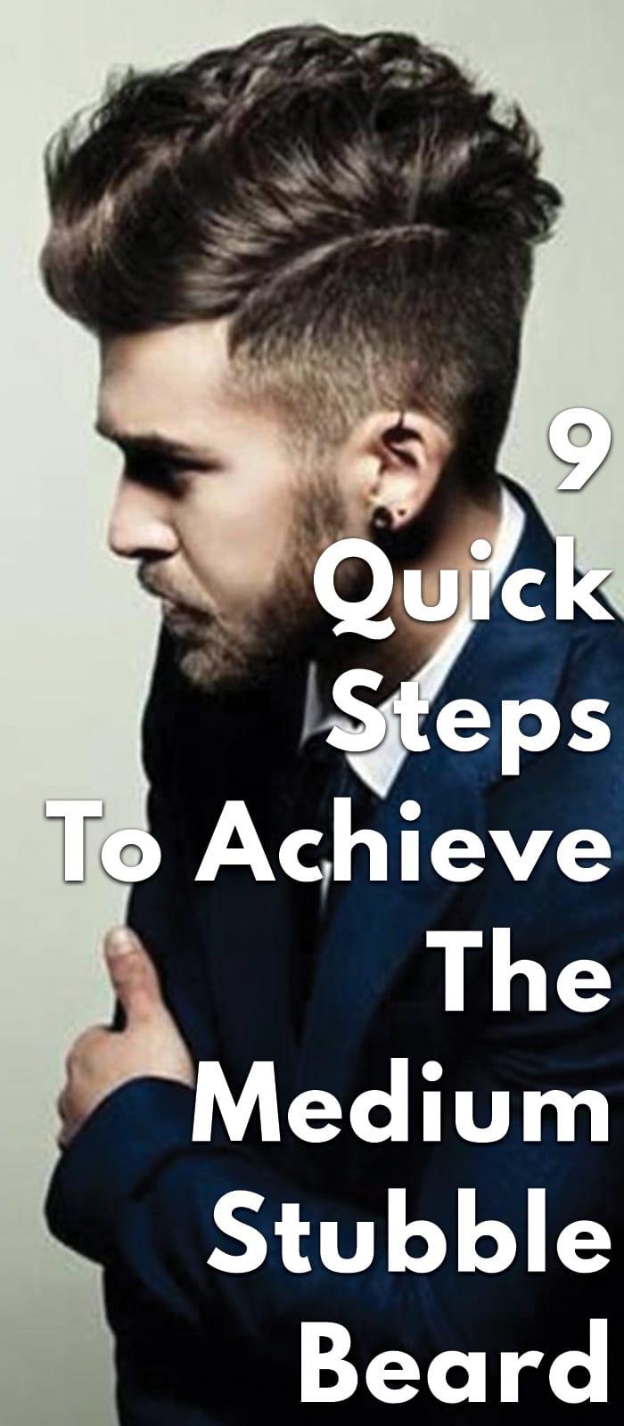 9-Quick-Steps-To-Achieve-The-Medium-Stubble-Beard