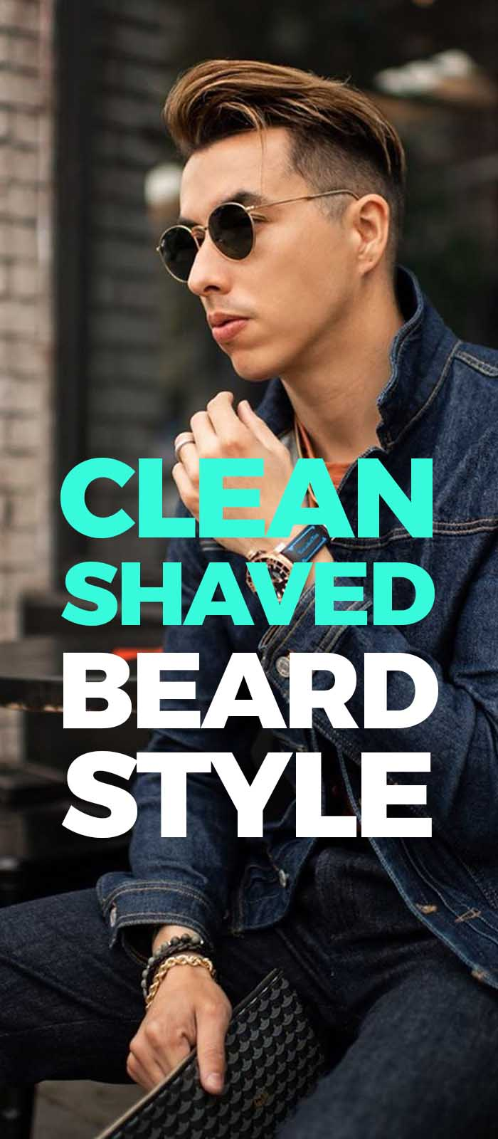 Clean shaved beard for men!