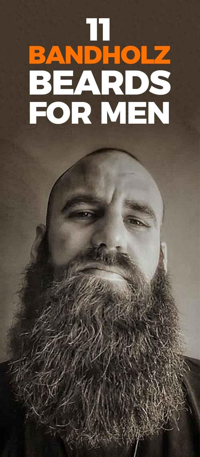 Full Beard Bandholz Style for men!