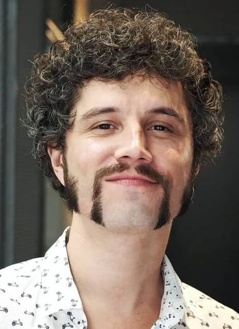 Horseshoe Mustache with side burns