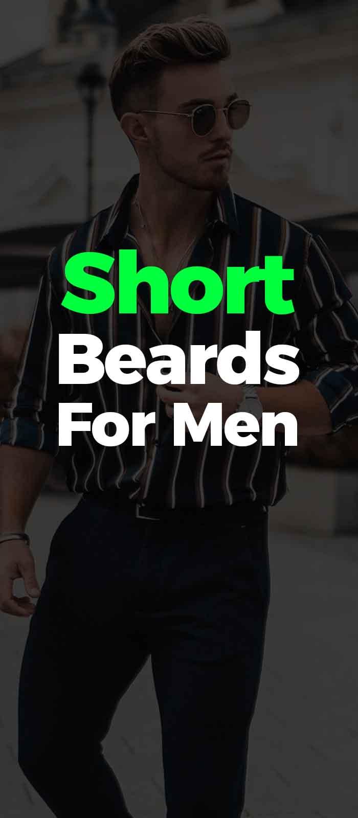 Short Quick Beard Style for men!