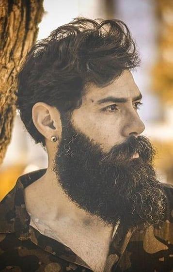2020's Best Long Beard Style -Garibaldi Beard