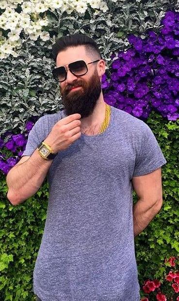 Garibaldi Beard Style for Men- 2020