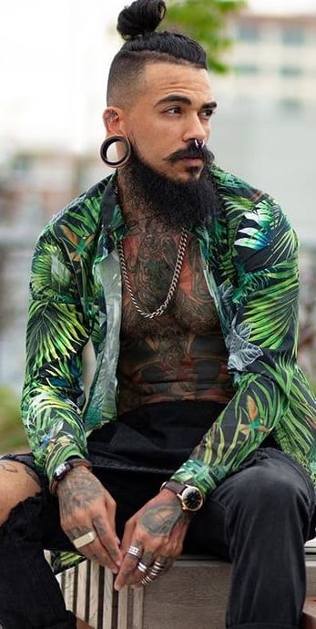 Gorgeous Long Beard 2020 Look for Men