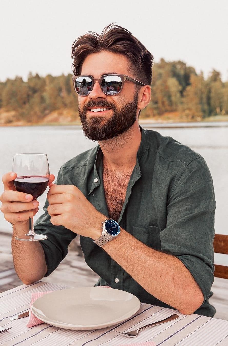 Short Heavy Stubble Beard 2020