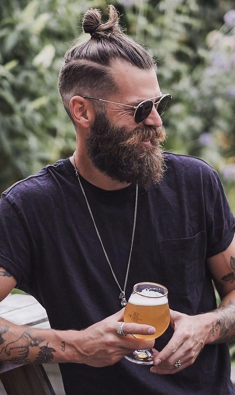 Hottest Long Bandholz Beard Styles