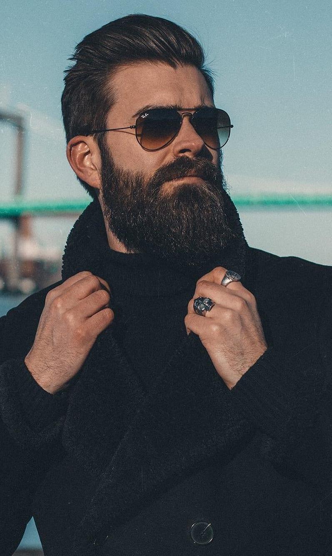 Long Bandholz Beard Styles for Men