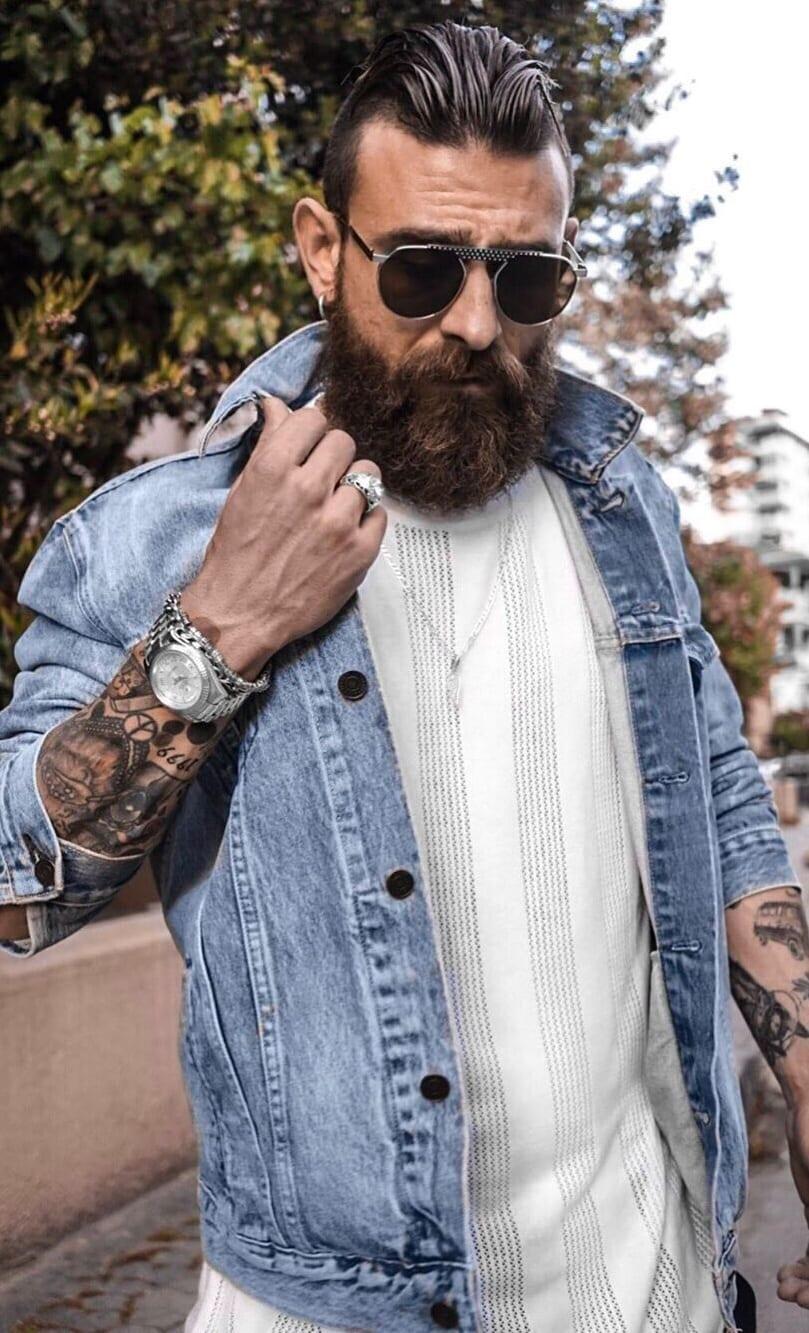 Long Beard Styles for Men in 2020