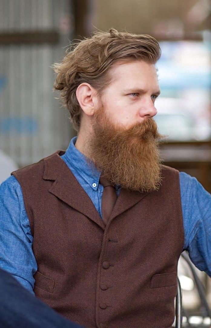 Sexiest Long Beard Trend- Bandholz Beard