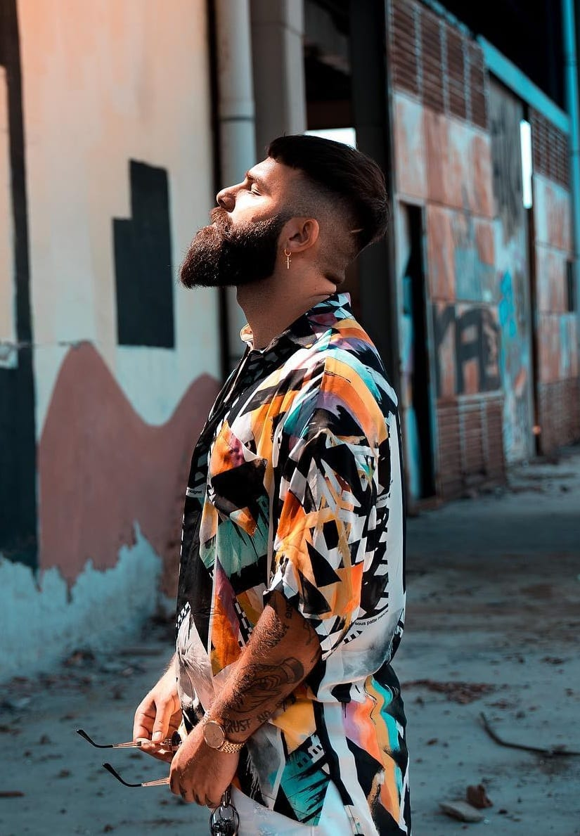 Sexy Long beard Styles for Men
